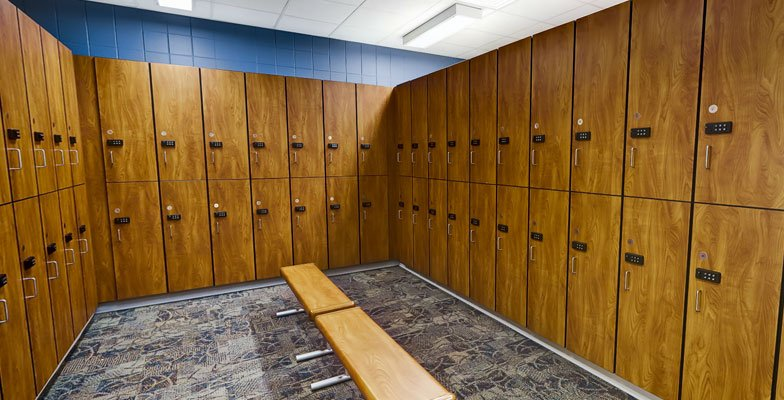 Rex Wellness Center of Raleigh Locker Rooms