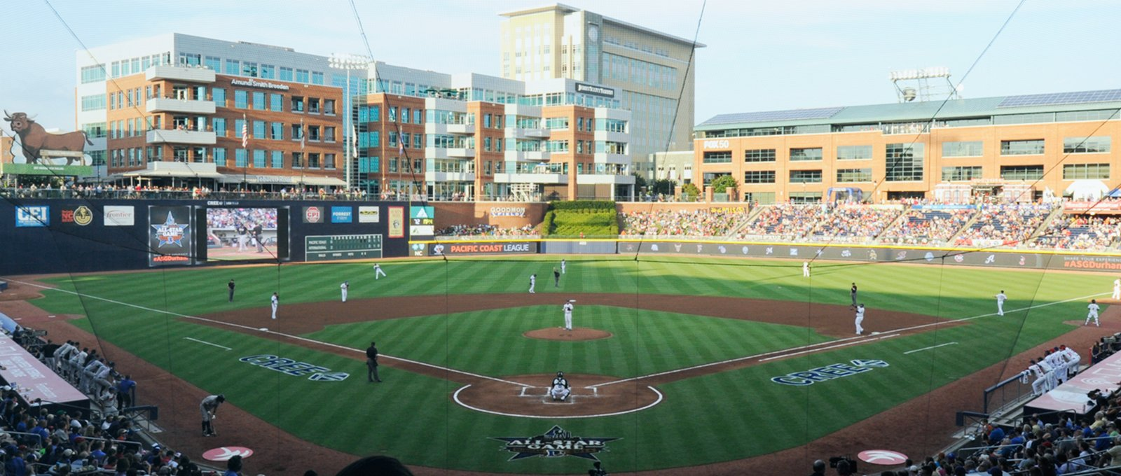 Field of Hope with the Durham Bulls