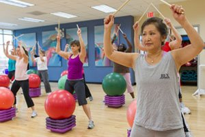 Group Exercise Classes at the Rex Wellness Centers