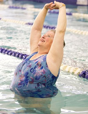 Aquatic Exercises at the Rex Wellness Center
