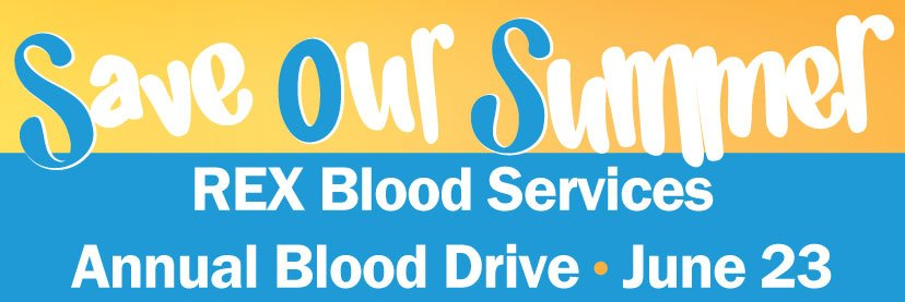 Save Our Summer Blood Drive