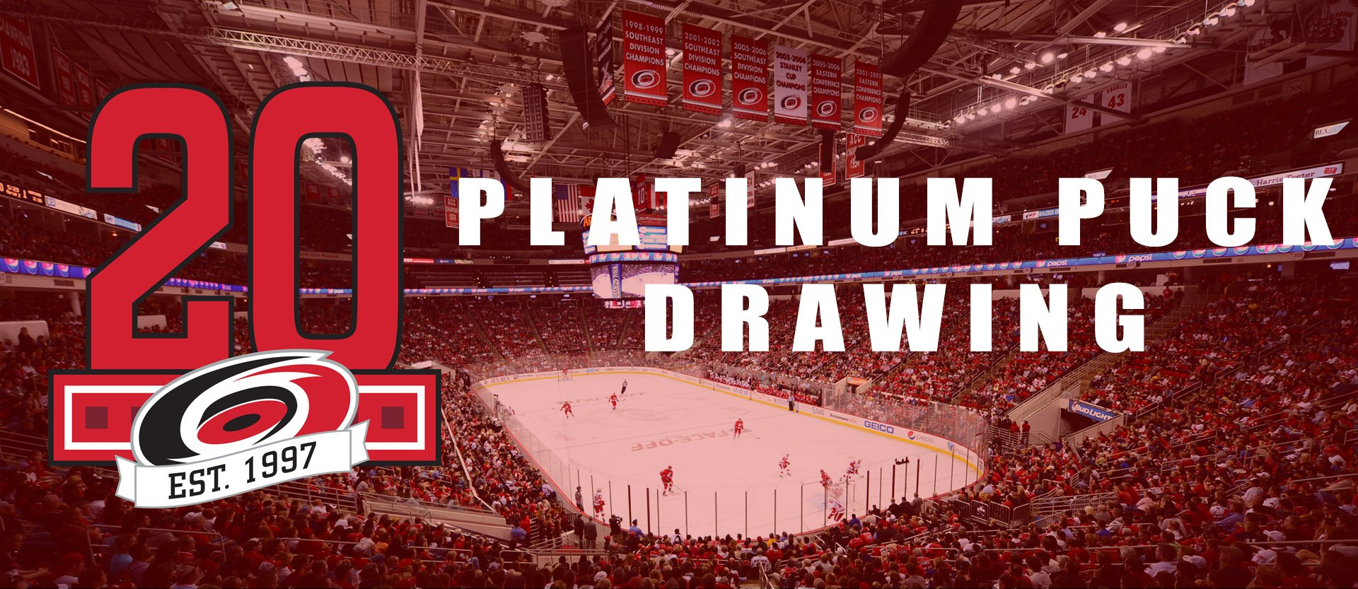 Platinum Puck sweepstakes banner