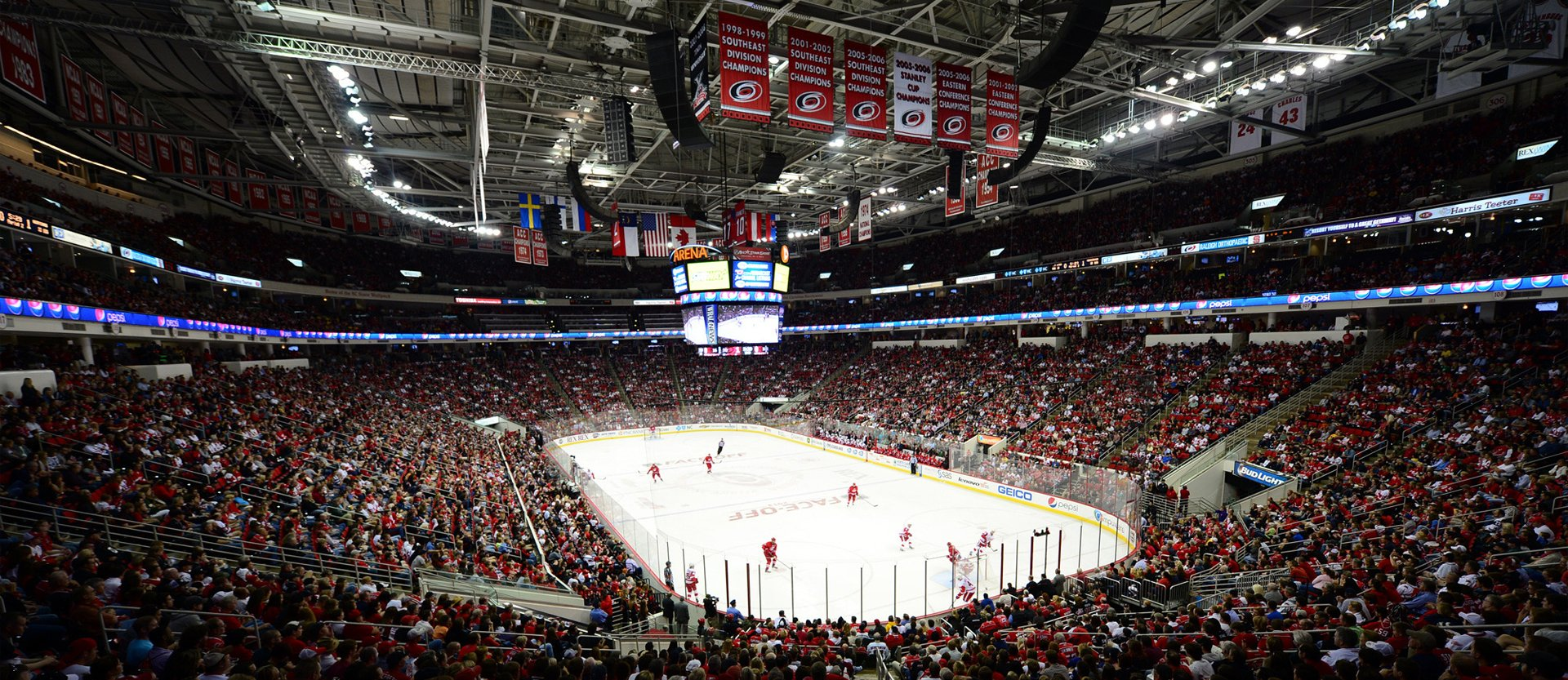 Carolina Hurricanes arena