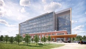 rendering of holly springs hospital
