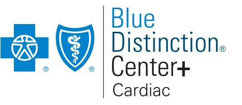 Blue Distinction Center Plus Cardiac Care Logo